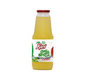 Kani Apple Fruit Drink 1000ml Glass Bottle