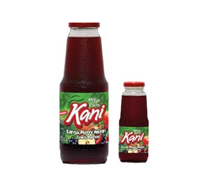 Kani Mixed Red Fruits Drink 1000ml – 250ml Glass Bottle