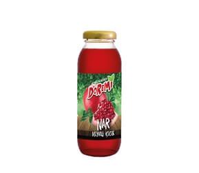 Doremi Pomegranate Fruit Drink 250ml Glass Bottle