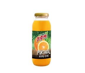 Doremi Orange Fruit Drink 250ml Glass Bottle