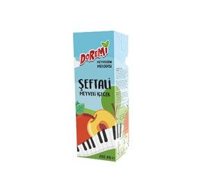 Doremi Şeftali Meyveli İçecek 200ml Karton
