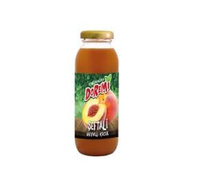 Doremi Peach Fruit Drink 250ml Glass Bottle