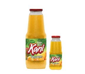 Kani Apricot Fruit Nectar 1000ml – 250ml Glass Bottle