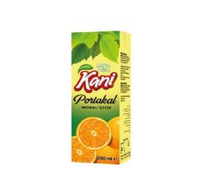 Kani Orange Flavored 200ml Carton