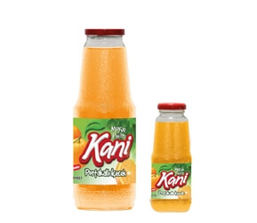 Kani Orange Fruit Drink 1000ml – 250ml Glass Bottle
