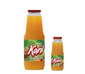 Kani Peach Fruit Nectar 1000ml – 250ml Glass Bottle