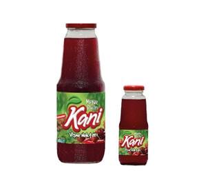 Kani Sour Cherry Fruit Nectar 1000ml – 250ml Glass Bottle
