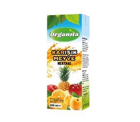 Organita Fruitmix Nectar 200ml Carton