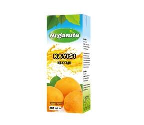 Organita Apricot Nectar 200ml Carton