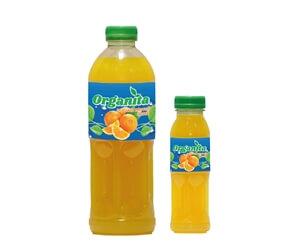 Organita Orange Fruit Drink 1000ml – 250ml Plastic Bottle
