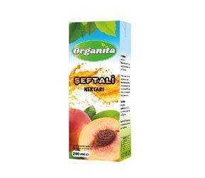 Organita Peach Nectar 200ml Carton
