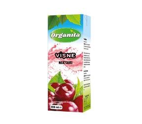 Organita Sour Cherry Nectar 200ml Carton