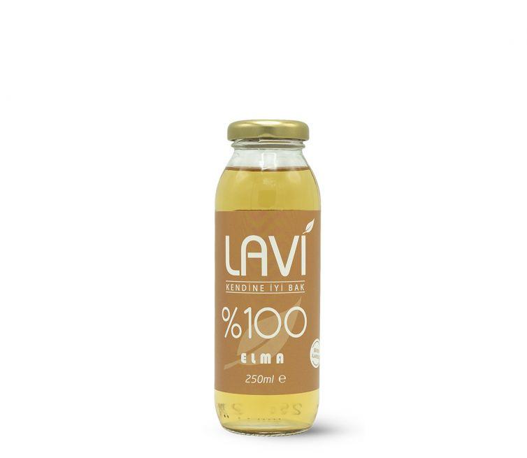 Lavi – Yüzde 100 Elma-Böğürtlen Cam Şişe